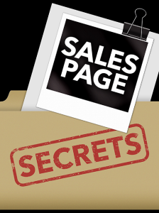 sales page secrets special report