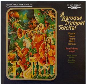 a baroque trumpet recital