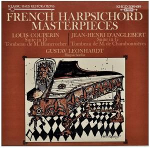 french harpsichord masterpieces - gustav leonhardt, harpsichordist