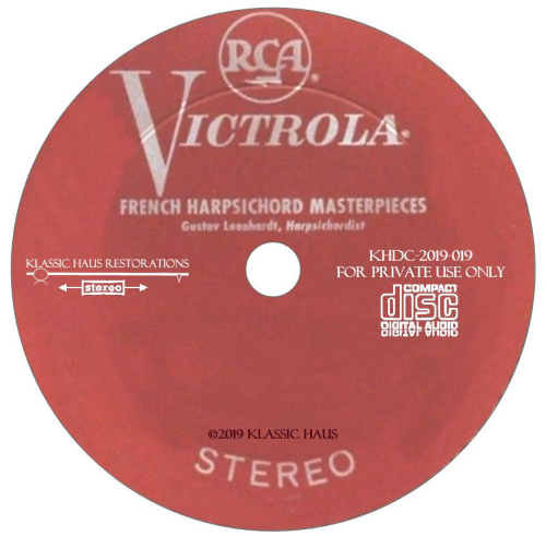 Second Additional product image for - French Harpsichord Masterpieces - Gustav Leonhardt, harpsichordist