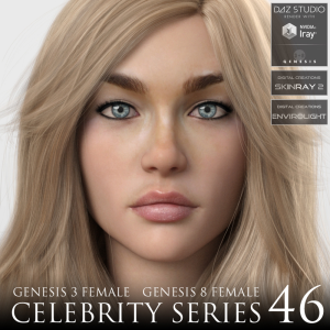 celebrity series 46 for genesis 3 and genesis 8 female