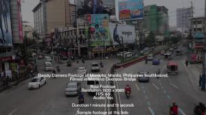 morayta, manila, philippines stock footage