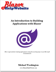 an introduction to building applications with blazor