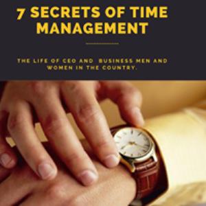 7 secrets of time management