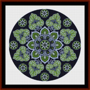 mandal 29 cross stitch pattern by cross stitch collectibles