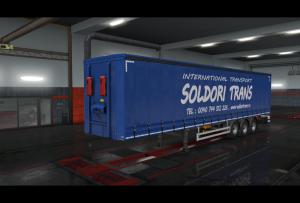 Soldori Trans2019 skin ETS2 | Other Files | Patterns and Templates