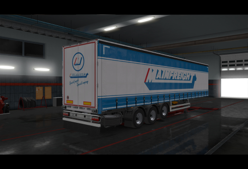 First Additional product image for - Mainfreight 2019 skin ETS2
