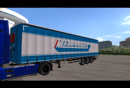 Second Additional product image for - Mainfreight 2019 skin ETS2