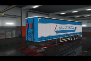 Mainfreight 2019 skin ETS2 | Other Files | Patterns and Templates