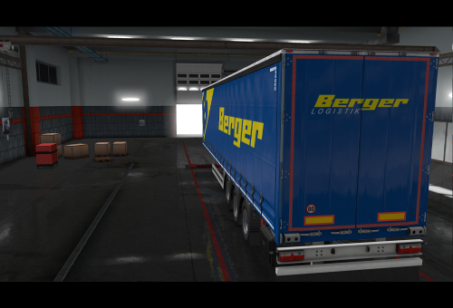 First Additional product image for - Berger Logistics 2019 skin ETS2