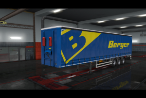 berger logistics 2019 skin ets2