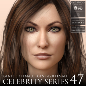 celebrity series 47 for genesis 3 and genesis 8 female