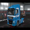 Man Euro6 Mainfreight  2019 skin ETS2 | Other Files | Patterns and Templates