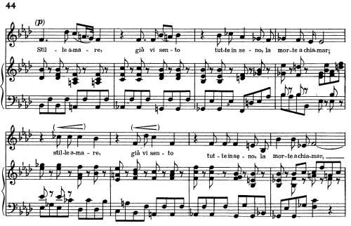 """First Additional product image for - Stille amare, Aria for Contralto in B-Flat minor (Original Key), with Recitative """"In umano fratel"""". Low Voice. Tolomeo HWV 25, G. F. Händel, Vocal Score, Ed. Imc. 4pp A4"""