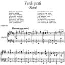 Verdi prati, Aria for Mezzo or Contralto in E Major (Original Key), Low Voice. Alcina HWV 34, G. F. Händel, Vocal Score, Ed. Imc. 3pp A4 | eBooks | Sheet Music