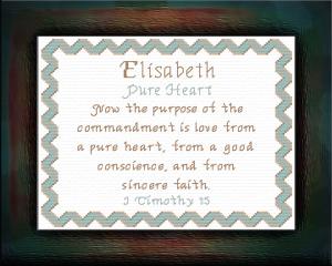 name blessings - elisabeth