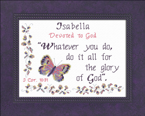 name blessings - isabella 4