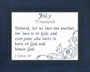 name blessings - jody