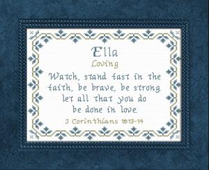 name blessings - ella 3