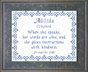name blessings - adilida