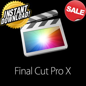 final cut pro x 10.4.6 formac|digital copy|lifetime license|instant downloadsale