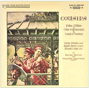 cousins: polkas, waltzes & other entertainments for cornet & trombone