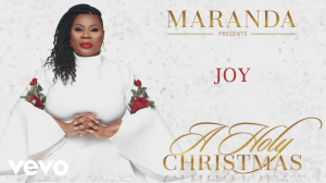 "joy (maranda curtis) black gospel christmas ""joy to the world"" for custom arranged for vocal solo, back up vocals, band, and horns."
