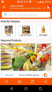 multi-vendor grocery application development
