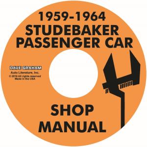 1959-64 studebaker passenger car