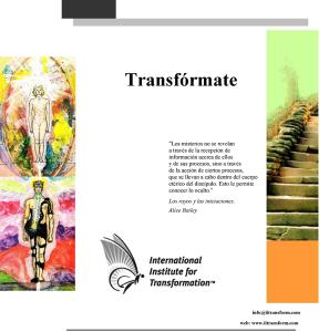 transfórmate - web self-study