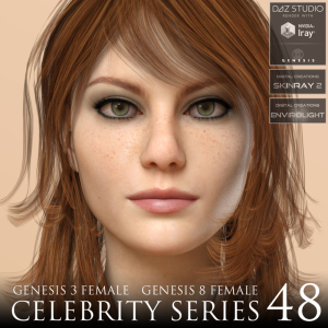 Celebrity Series 48 for Genesis 3 and Genesis 8 Female | Software | Design
