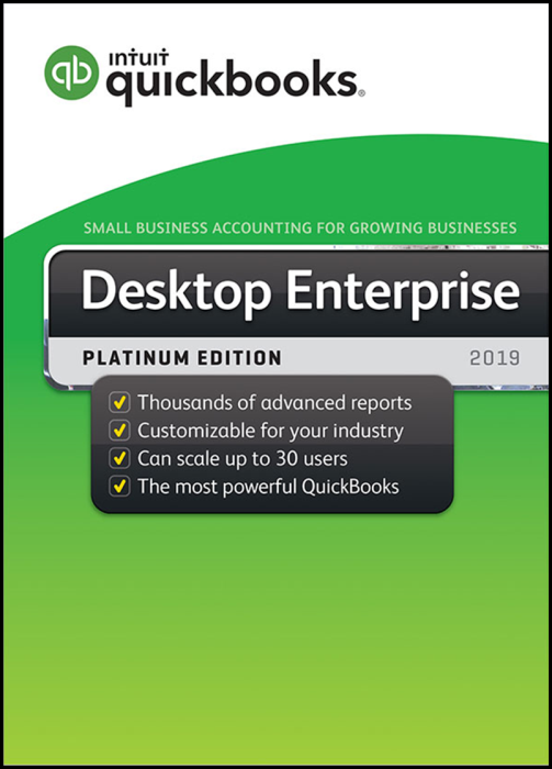 First Additional product image for - Quickbooks Enterprise 2019 PLATINUM