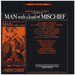 man with a load of mischief - original 1966 cast album