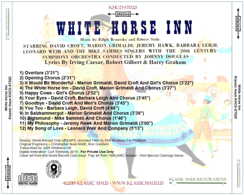 First Additional product image for - White Horse Inn