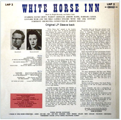 Second Additional product image for - White Horse Inn