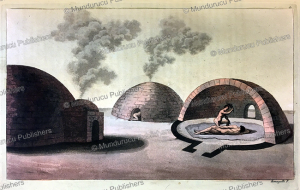 temazcal or ancient mexican low heat sweat lodge, paolo fumagalli, 1820