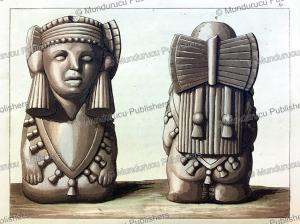 aztec idols, gallo gallina, 1816