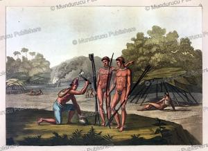 Pataxo´ Indians, Brazil, C. Bramati, 1820 | Photos and Images | Travel
