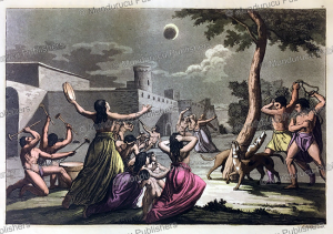 Inca in despair during a moon eclipse, Gallo Gallina, 1820 | Photos and Images | Travel