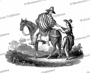 how to mountain a horse in peru, edmond temple, 1830
