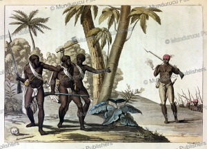 Free Negros hunting down rebels in Surinam, G. Bramati, 1820 | Photos and Images | Travel