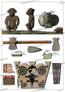 Idols of the Carib Indians, Vittorio Raineri, 1820   Photos and Images   Travel