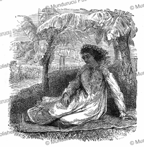 A Tahitian lady, Brassey, 1880   Photos and Images   Travel