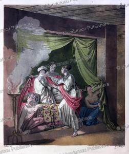 ozoro tishai of adwa, an abyssinian lady or princess, gallo gallina, 1819