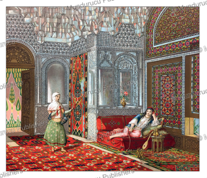 The main room of the house of a wealthy Persian | Photos and Images | Travel