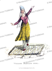 Persian village dancing girl, Frederic Shoberl, 1822 | Photos and Images | Travel