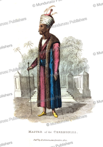 master of ceremonies of the persian king, frederic shoberl, 1822
