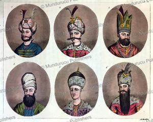 portraits of kings of persia, angelo biasioli, 1917