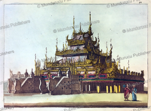 Monastery of Burmese priests at Amarapura, Burma, L. Rossi, 1816 | Photos and Images | Travel