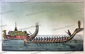 Burmese boats, L. Rossi, 1816 | Photos and Images | Travel